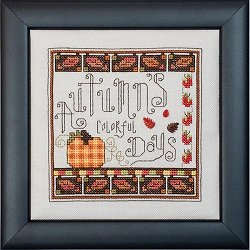 Quick Stitches 019 Autumn's Colorful Days THUMBNAIL