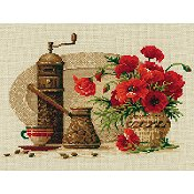 Riolis Cross Stitch - Coffee