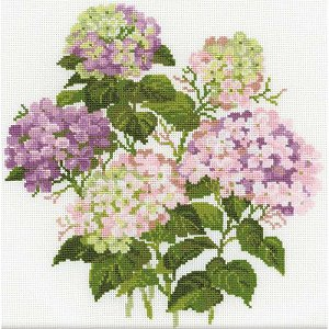 Riolis Cross Stitch - Garden Hydrangea MAIN