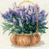 Riolis Cross Stitch - French Lavender