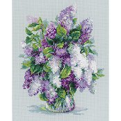 Riolis Cross Stitch - Gentle Lilac