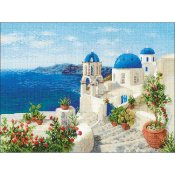 Riolis Cross Stitch - Santorini