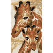 Riolis Cross Stitch - Giraffes