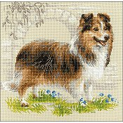 Riolis Cross Stitch - Sheltie