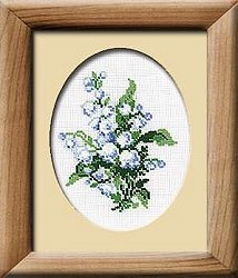 Riolis Cross Stitch Kit - Lily of the Valley_MAIN