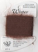 Rainbow Gallery Wisper W75 Brown - Discontinued Sub w/ W68 Dark Tan