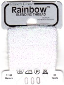 Glissen Gloss Rainbow Blending Thread 000 Bright White