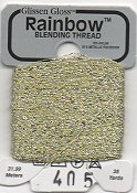 Glissen Gloss Rainbow Blending Thread 405 Cream THUMBNAIL