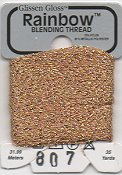 Glissen Gloss Rainbow Blending Thread 807 Light Copper THUMBNAIL