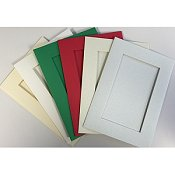 Needlework Cards - Large Rectangle