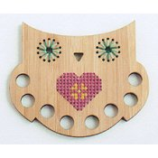 Red Gate Stitchery - Floss Organizer - Owl