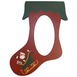 Poppy Kreations Frames - Red Stocking