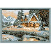 Riolis Cross Stitch Kit - Winter View