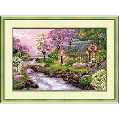 Riolis Cross Stitch Kit - Spring View