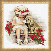 Riolis Cross Stitch Kit - Sweet Tooth