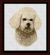 Cross Stitch Collectibles - Bichon THUMBNAIL