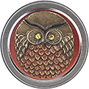 Just Nan - Barney Owl Needle Tin