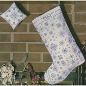 Rosewood Manor - Let It Snow Christmas Stocking