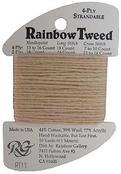 Rainbow Gallery Rainbow Tweed RT11 Tan_THUMBNAIL