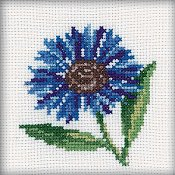 RTO Cross Stitch Kit - Cornflower