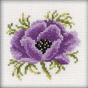RTO Cross Stitch Kit - Anemone