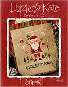 Lizzie Kate Snippet - Celebrate! '15 Santa Embellishment Pack