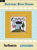Pine Mountain Designs - Smidgen Series - Summer Blue House THUMBNAIL