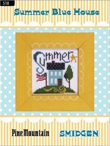 Pine Mountain Designs - Smidgen Series - Summer Blue House_MAIN