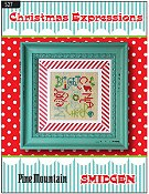 Pine Mountain Designs - Smidgen Series - Christmas Expressions THUMBNAIL