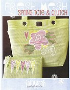 SamSarah Design Studio - Fresh Mesh Spring Tote and Clutch THUMBNAIL