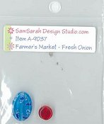 SamSarah Design Studio - Farmer's Market Vegetable Stand - Fresh Onion Embellishment Pack