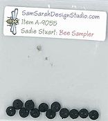 SamSarah Design Studio - Sadie Stuart Summer Bee Sampler Embellishment Pack