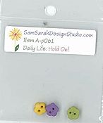 SamSarah Design Studio - Daily Life:  Hold On! Embellishment Pack THUMBNAIL