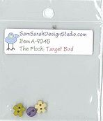 SamSarah Design Studio - The Flock - Target Bird Embellishment Pack