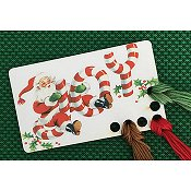 Vintage Postcard Series #4 - Santa Joy Threadkeep_THUMBNAIL