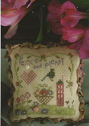 Shepherd's Bush - Peace and Plenty Pin Cushion Kit MAIN