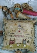 Shepherd's Bush - Snow Flakes Pin Cushion Kit THUMBNAIL