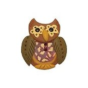 Button - Hoot Owl