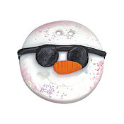 Button - Snowman with Sunglasses THUMBNAIL