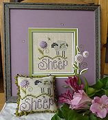 Shepherd's Bush - Sheep Freebee Pattern and Meadow Daisy Button THUMBNAIL