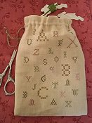 The Primitive Jewel - Scatter Sampler Ditty Bag