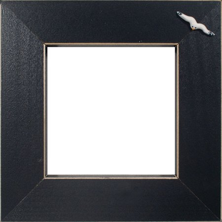 Button Frame - Seagull 4x4 Black THUMBNAIL