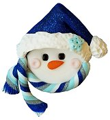 Stoney Creek Needle Minder - Snowman w/ Hat THUMBNAIL