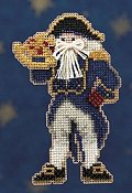 Mill Hill Bead Kit Seafaring Santas - Captain Santa