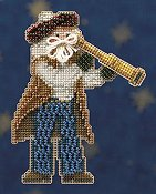 Mill Hill Bead Kit Seafaring Santas - First Mate Santa