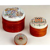 Shaker Boxes / Pincushion