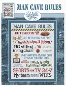 Sue Hillis Designs - Man Cave Rules
