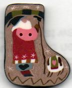Shepherd's Bush - Stocking Button (Used in Christmas Joys) THUMBNAIL