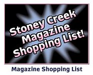 Stoney Creek Magazine Shopping List