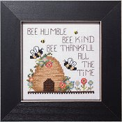 cover of Stoney Creek cross stitch pattern Simply Inspirational SI001 bee thankful_THUMBNAIL